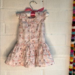 Pippa & Julie Bike Sun Dress sz 2T